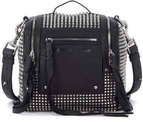 McQ Loveless Convertible Mini Leather Backpack With Studs