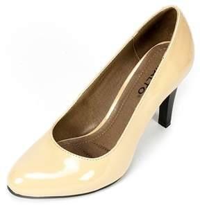Rialto Womens Coline Fabric Closed Toe Classic Pumps.