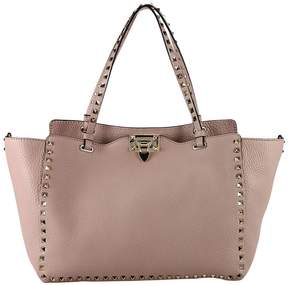 Valentino Shoulder Bag Rockstud Tote Bag With Micro Studs And Removable Shoulder Strap