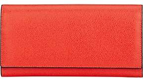 Valextra Women's Large Wallet With Card Case-Red