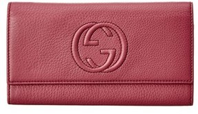 Gucci Purple Leather Soho Continental Wallet. - MULTIPLE COLORS - STYLE