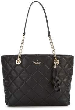 Kate Spade Emerson Place Small Priya Tasseled Quilted Tote