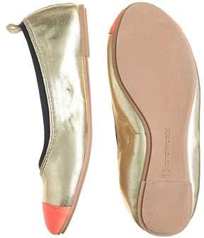 J.Crew Girls' Mila cap toe ballet flats