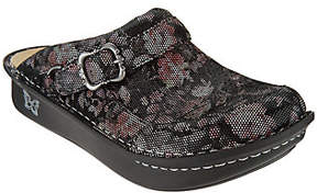 Alegria As Is Leather Slip-on Clogs- Seville