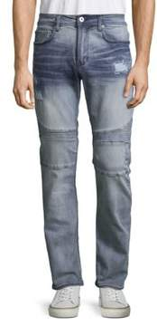 Buffalo David Bitton Ash-X Distressed Skinny Jeans