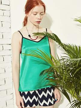 Blank Color Sleeveless-gn