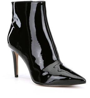 Gianni Bini Nailah Patent Leather Booties