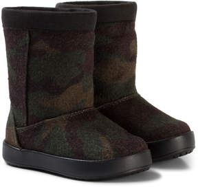 Crocs Camo LodgePoint Novelty Boot