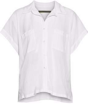 Enza Costa Cotton-Gauze Shirt