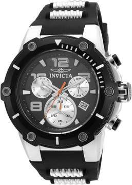 Invicta Speedway Chronograph Black Dial Men's Watch