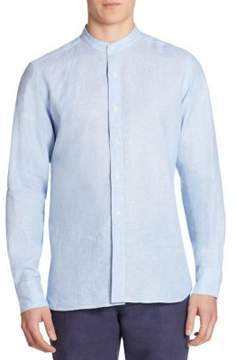 Saks Fifth Avenue COLLECTION Striped Regular-Fit Shirt