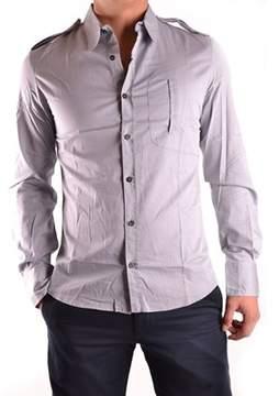 CNC Costume National Men's Grey Cotton Shirt.