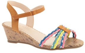 Nine West Girls' Gabbey Quarter Strap Sandal
