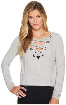 Alo Ideal Long Sleeve Top Women's Clothing