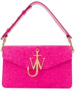 J.W.Anderson felt logo purse