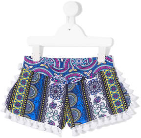 MC2 Saint Barth Kids printed shorts