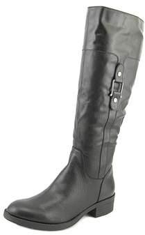 Thalia Sodi Vada Women W Round Toe Synthetic Black Knee High Boot.