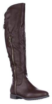Rialto Firstrow Over The Knee Boots, Mocha.