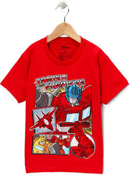 Freeze Transformers Red Tee - Boys