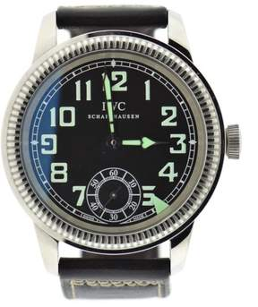 IWC IW325401 Stainless Steel & Leather Manual Vintage 44mm Mens Watch