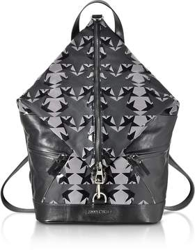 Jimmy Choo Fitzroy GNY Graphic Stars Print Fabric Backpack