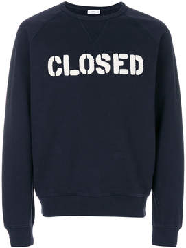 Closed logo sweatshirt