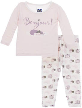 Kickee Pants Bonjour Pajama Set