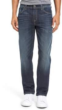 Fidelity Jimmy Slim Straight Leg Jeans (Delta)