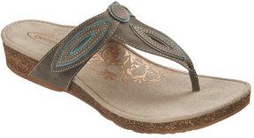 Aetrex Women's Terri Petal Thong Sandal