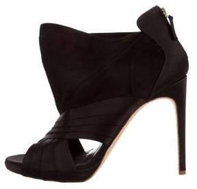 Rupert Sanderson Cutout High-Heel Ankle Boots