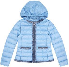 Moncler Kamaria Fringe Hooded Jacket (8 Years - 10 Years)