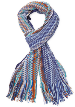 Missoni Men's Long Wool Scarf