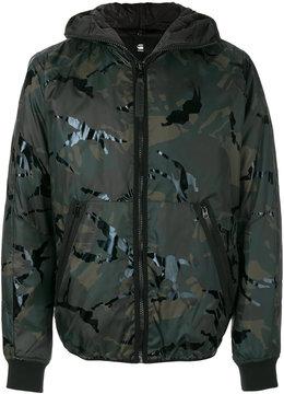 G Star G-Star camouflage print jacket