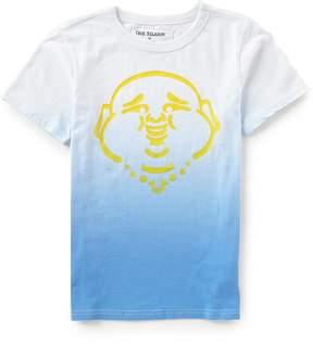 True Religion Big Boys 8-20 Short-Sleeve Buddha Dip-Dye Tee