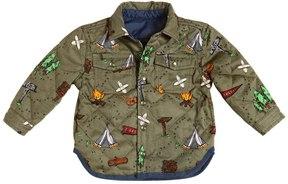 Stella McCartney Reversible Cotton Drill & Nylon Jacket