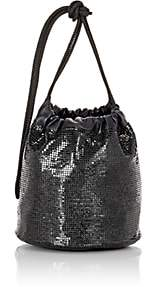 Paco Rabanne Women's Sac Mesh Bucket Bag - Black