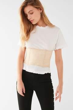 Urban Outfitters Maya Lace Corset Belt