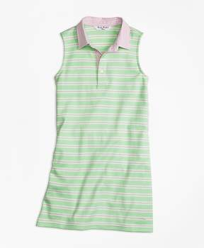 Brooks Brothers Sleeveless Striped Dress