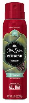Old Spice Fresher Collection Body Spray Scent:Citron