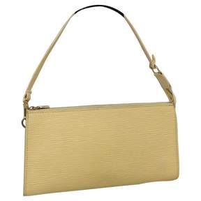 Louis Vuitton Pochette Accessoire leather handbag - BEIGE - STYLE