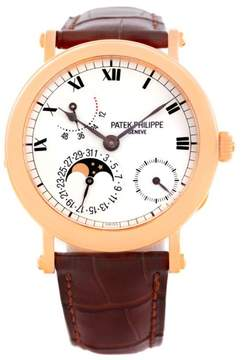 Patek Philippe Moonphase 5054 18K Rose Gold 36mm Mens Watch