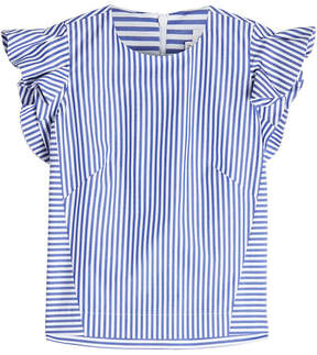 Stella Jean Striped Cotton Sleveless Blouse