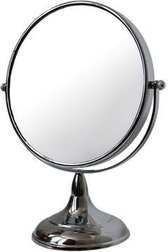 Chrome Round Vanity Mirror by Kingsley (8in Mirror)