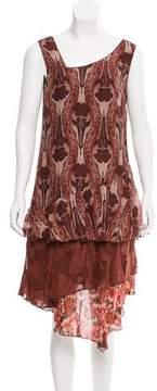 Anna Sui Sleeveless Midi Dress