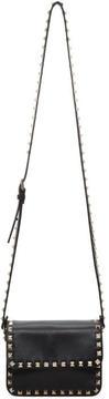 Valentino Black Garavani Mini Rockstud Flap Bag