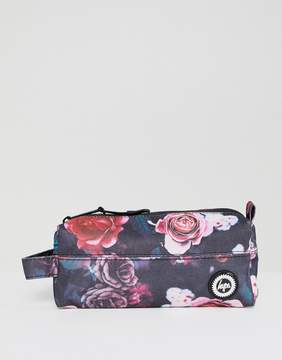 Hype Pencil Case In Floral Print