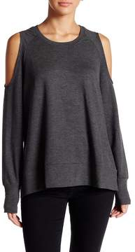 C&C California Reyanne \nSlouchy Cold-Shoulder Pullover
