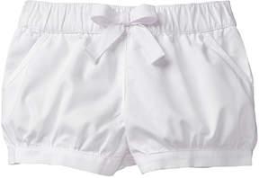 Gymboree White Bubble Shorts - Infant, Toddler & Girls