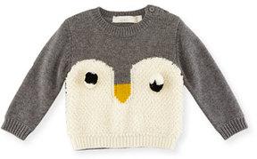 Stella McCartney Ira Knit Penguin Sweater, Size 6-36 Months