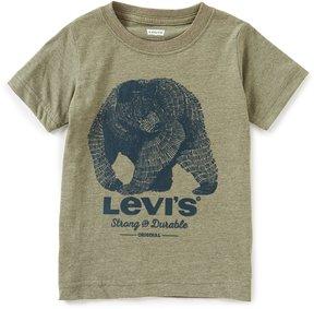 Levi's s Little Boys 2T-7 Graphic Crew Neck Short-Sleeve Tee